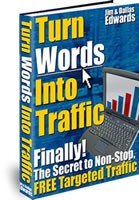 turn worrds into cash - article marketing traffic profit