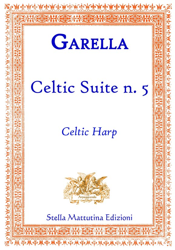 Copertina Celtic suite 5 Daniele Garella arpa celtica