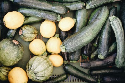 Einkaufen am Bauernmarkt