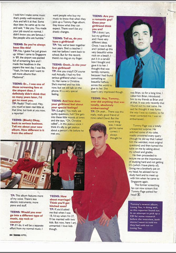 Tommy Page 2