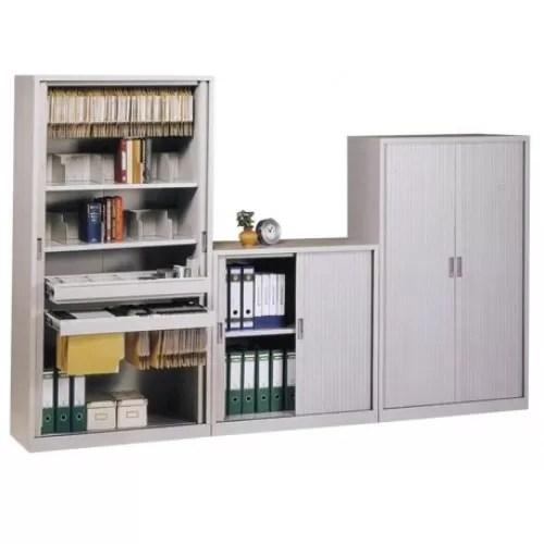 Office Sliding Door Steel Cabinet (Tambor Type)