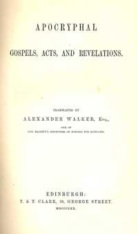 Apocryphal gospels