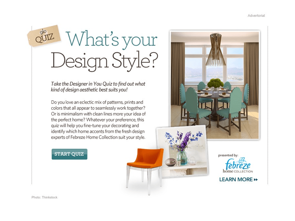 Interior Design Style Quiz Stellar Interior Design