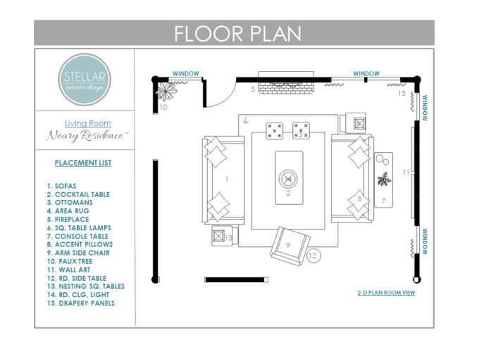 Interior Design Living Room Floor Plans | Thecreativescientist.com
