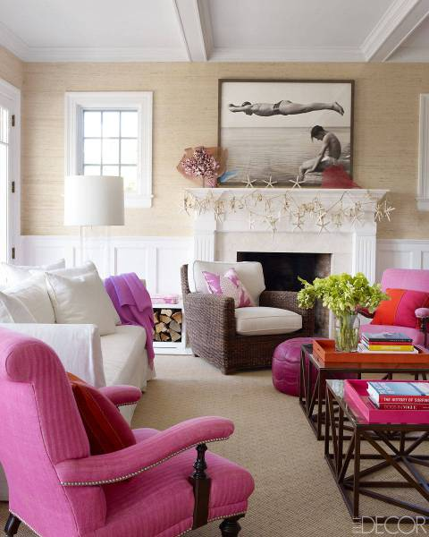 elle decor living room ideas Beach House Decor - Stellar Interior Design