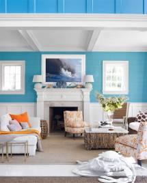 Beach House Living Room Colors