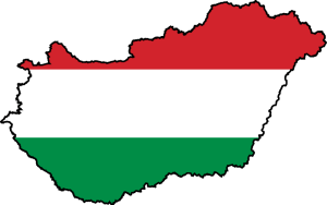 hungarian-flag-map