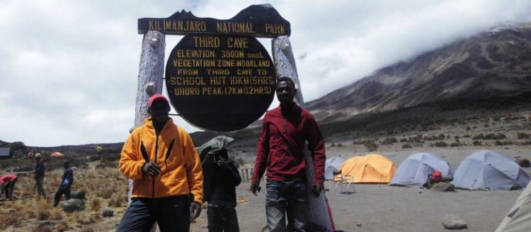 third cave on Rongai