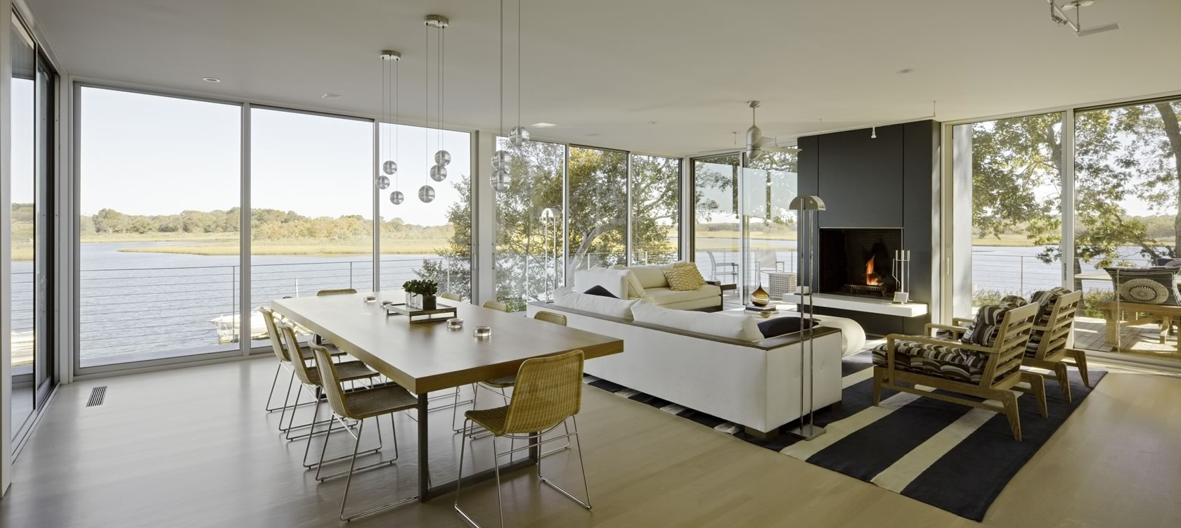 Dining Room Spaces Stelle Lomont Rouhani Architects Award Winning Modern Architect