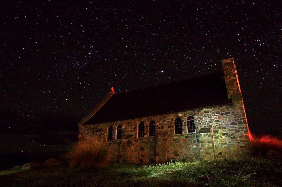 403*. …and night  |  Church of the Good Shepard, Lake Tekapo