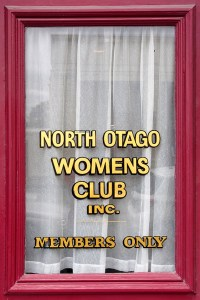 12 Oamaru Womens Club