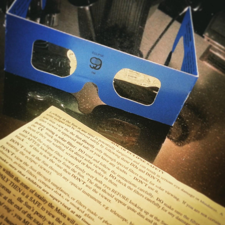 My eclipse glasses