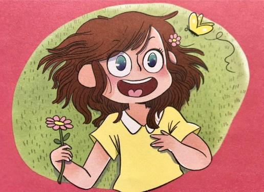 illustration Miss Paty