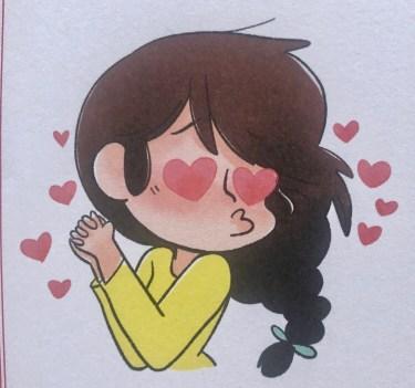 Journal pour me sentir bien, illustration Miss Paty