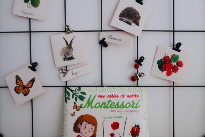Mes cartes de nature montessori, Éditions Gründ