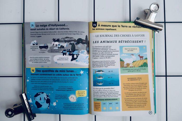 100 infos insolites sur notre planète, Éditions Usborne
