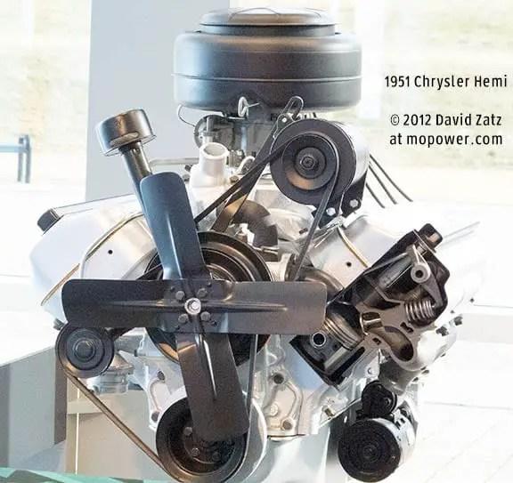 1951 Chrysler FirePower Hemi V8