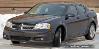 Dodge Avenger, 2008-14: Now a family sedan