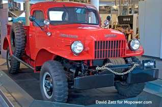 The original, tough, military-grade Dodge Power Wagon