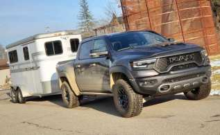 Ram TRX Review Series: Pulling a Horse Trailer with 702hp