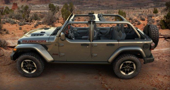 Jeep Wrangler Half Doors