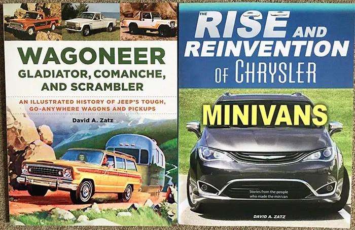 jeep and minivan books