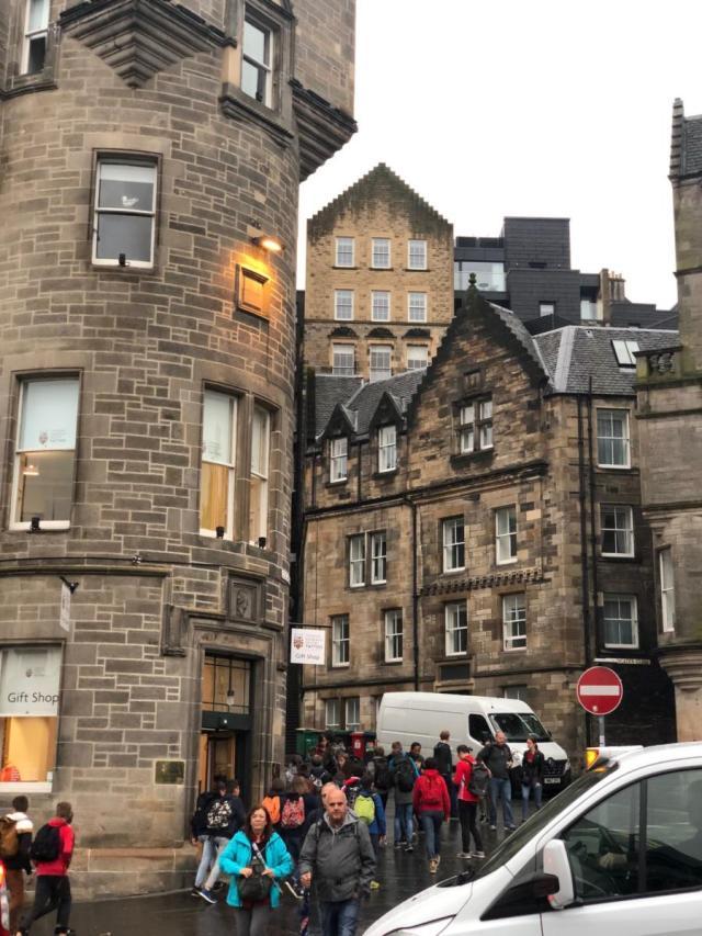 Visite à pieds de la vieille ville d'Edimbourg