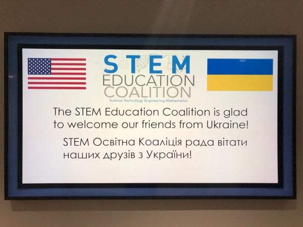 Coalition Welcomes Stem Education Leaders Ukraine