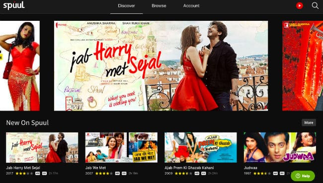 Review of Spuul  OTT Service Provider to Watch Bollywood