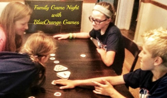 Family game night with BlueOrange Games is always a good time!