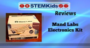 Mand Labs Electronics Kit for kids, great for teens!