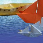 How To Make An Origami Boat Stem Little Explorers