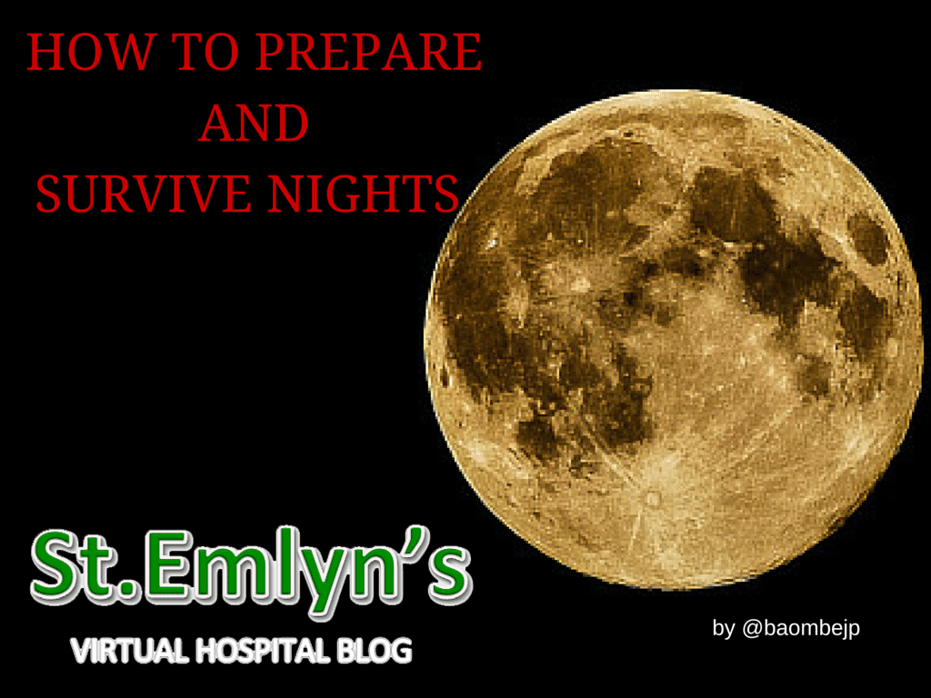 Tips on how to prepare and survive your night shifts