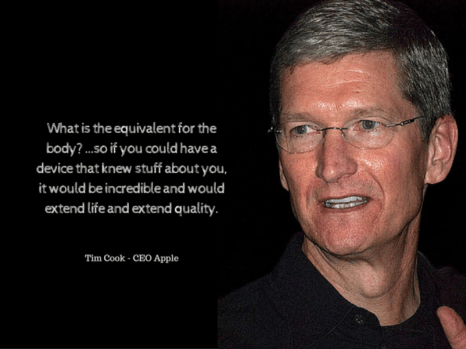 Tim Cook compares cars to people