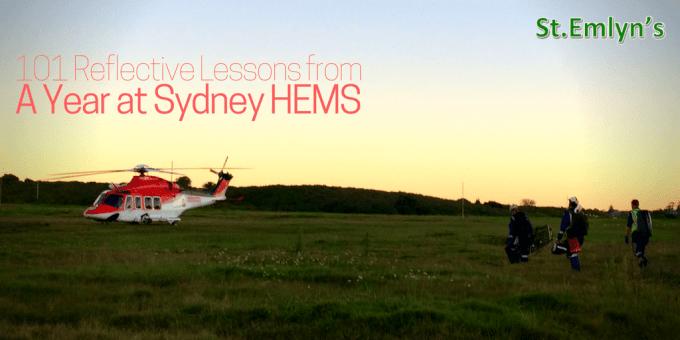 Sydney HEMS stemlyns