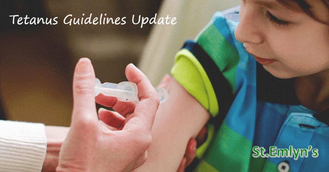 Tetanus Guidelines Update