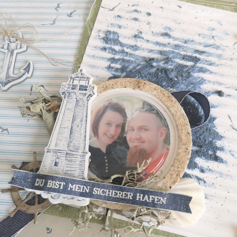 Maritimes Layout made by Stempelhead mit Setz die Segel von Stampin' Up!