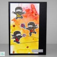 Ninja Glückwünsche - Mama Elephant