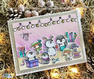 Weihnachtsvorbereitungen - Mama Elephant