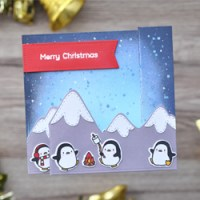 Die Pinguine sind los - NEUER Mama Elephant Release