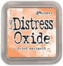 dried marigold - distress oxide ink