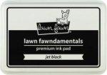 lawn fawn dye ink jet black
