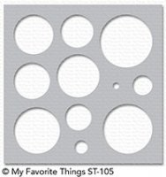 mft stencil basic shapes circles
