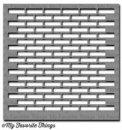 my favorite things stencil brick