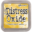 distress oxide ink - fossilized amber