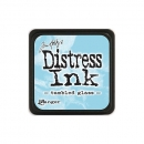 distress ink - tumbled glass