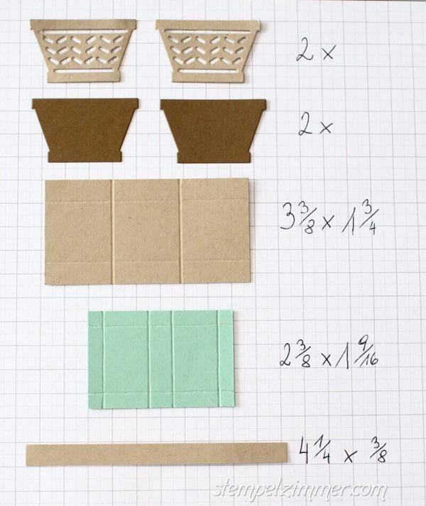 Materialübersicht - Picknick Korb Anleitung