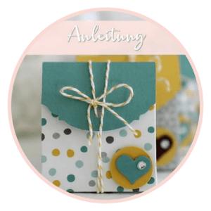 Kleine Verpackung-Goodies-Stampin Up-Stempelzimmer