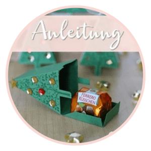Tannenbäumchen mit Ferrero Küsschen-Anleitung