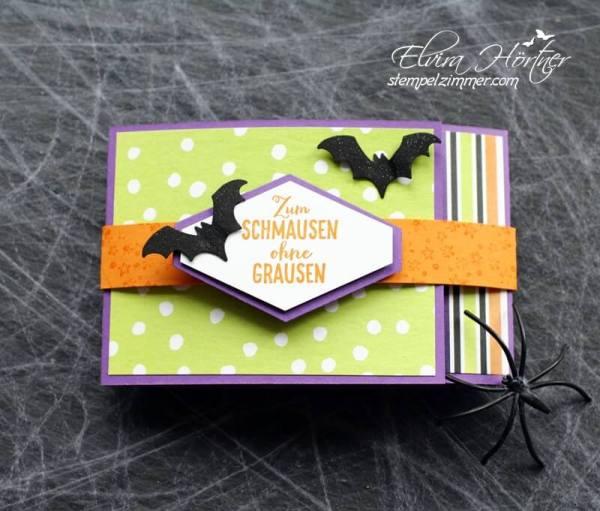 zum schmausen ohne grausen-halloween-verpackung-Gummizeugs-Stampin Up